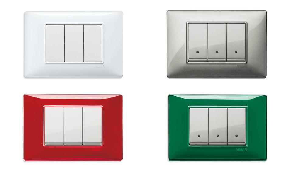 Серия Plana, цвета и формы